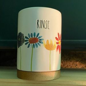 Floral Rinse cup by Rae Dunn